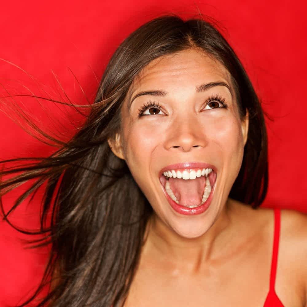 Ecstatic Woman in Business