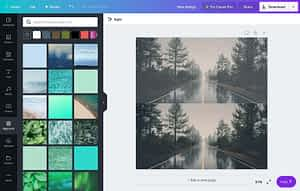 Canva Editor Image